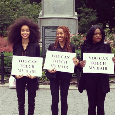 Trois femmes noires avec des coupes bien différentes