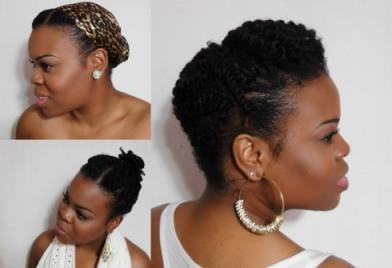 Photo provenant de la chaîne Youtube SimplyUnique qui propose des tutoriels pour cheveux afro