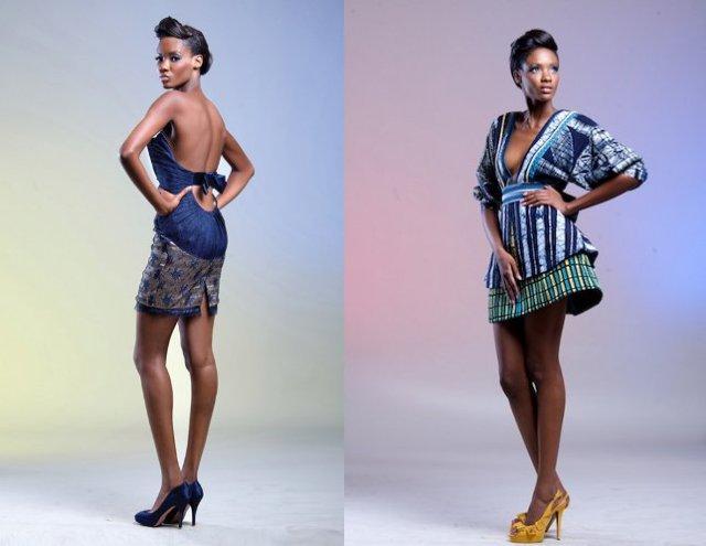 Créations de la styliste nigériane Deola Sagoe