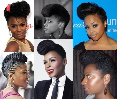 Illustrations de Banane sur cheveux afro