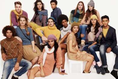 Photo d'une campagne publicitaire d'United Colors of Benetton