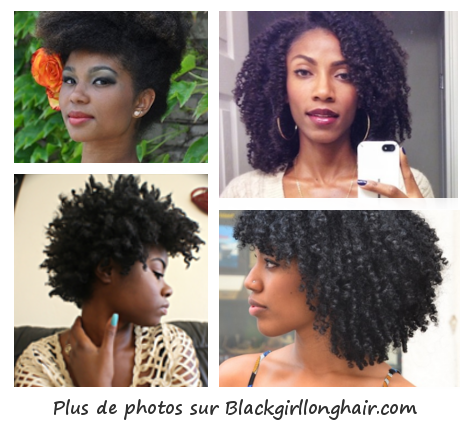Photos de femmes noires aux longs cheveux crépus ou frisés