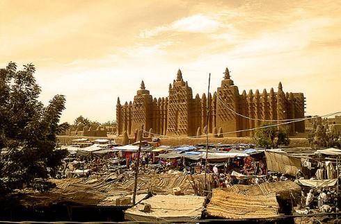 Photo de la Grande Mosqué de Djennée au Mali