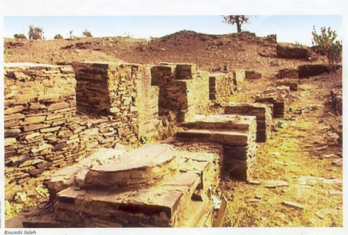 Photo des ruines de Koumbi Saleh