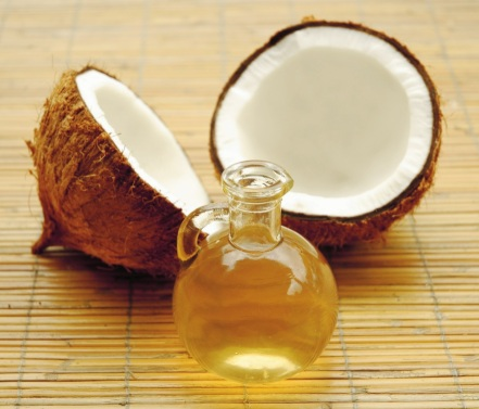 Photo d'huile de coco