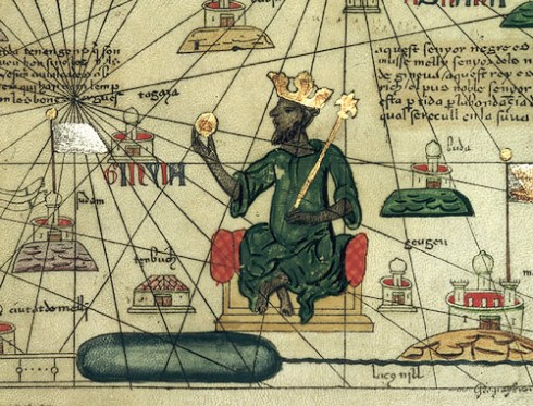 Représentation de Mansa Musa qui fut à la tête de l'empire malien au 14e siecle et l'homme plus riche de tous les temps !